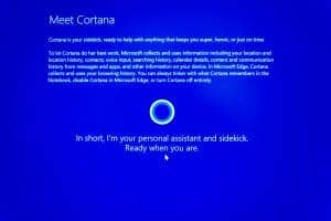 Windows 10 Spring Creator Update Cortana