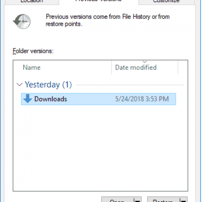 Here's Why You Should Be Using Windows 10 File History
